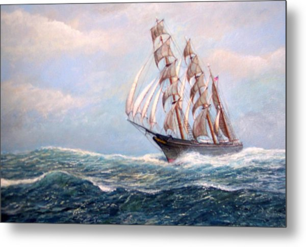 Headin' Home Metal Print by William H RaVell III