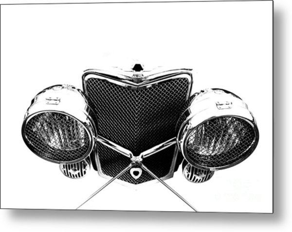 Metal Print featuring the photograph Headlights by Stephen Mitchell