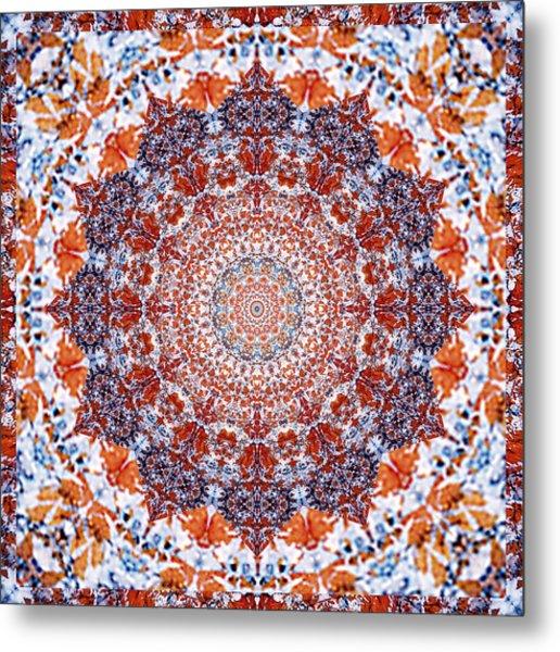 Healing Mandala 2 Metal Print