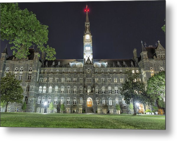 Metal Print featuring the photograph Healy Hall by Belinda Greb