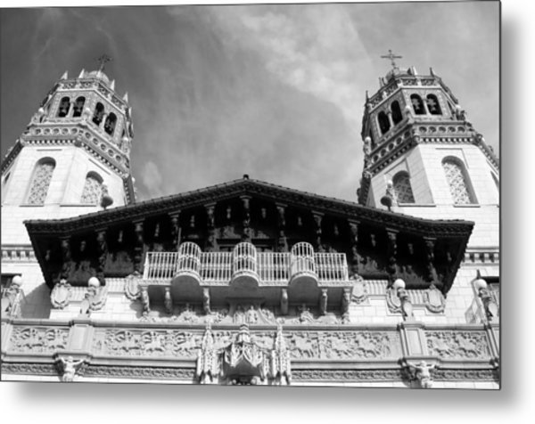 Hearst Castle Towers Metal Print