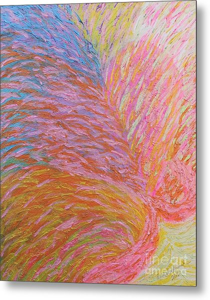 Heart Burst Metal Print