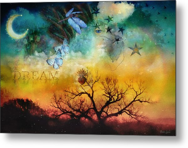 Heart Dream Metal Print