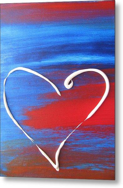 Heart In Motion Metal Print
