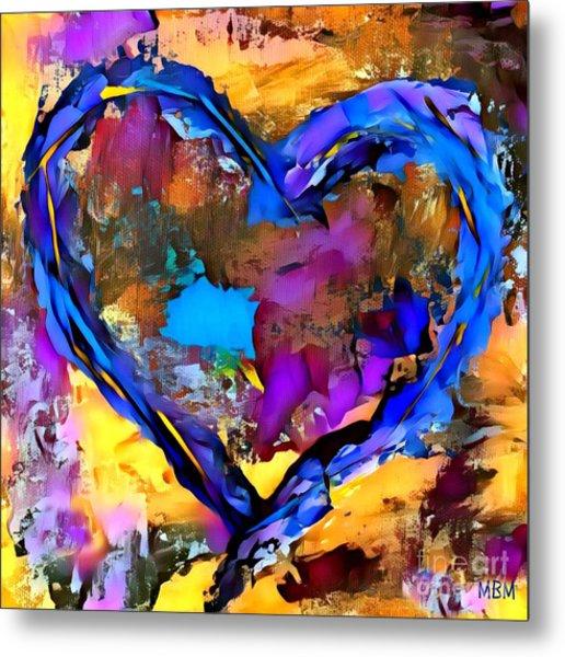 Heart No 7 Metal Print