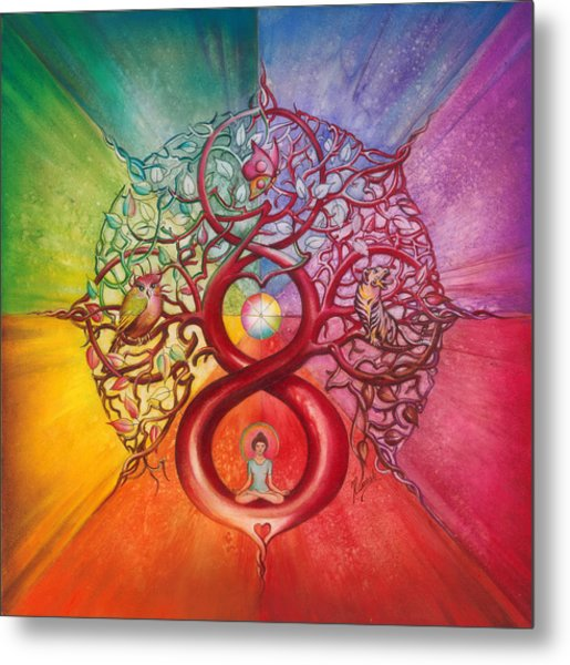 Heart Of Infinity Metal Print
