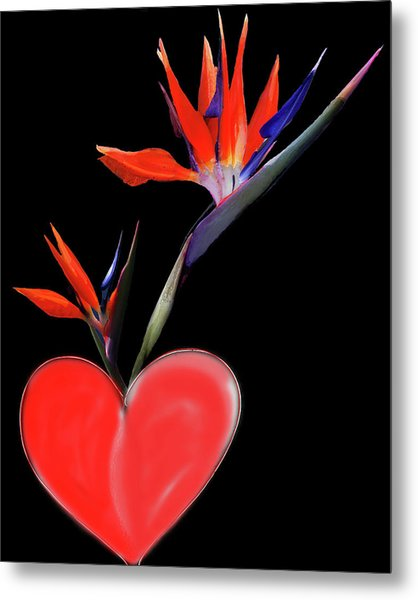 Heart  Of Paradise Metal Print
