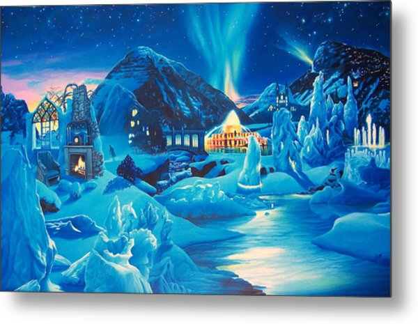 Heart Of The Sunrise With Lost Dreamer Metal Print by James McCarthy