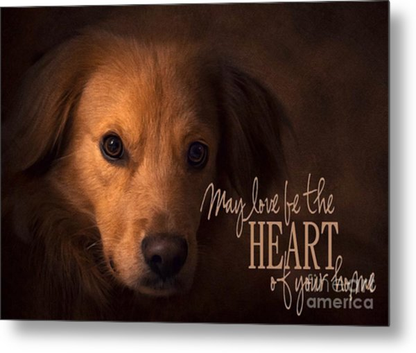Heart Of Your Home  Metal Print