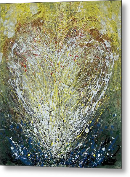 Heart One Metal Print