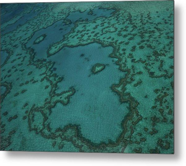 Heart Reef Metal Print