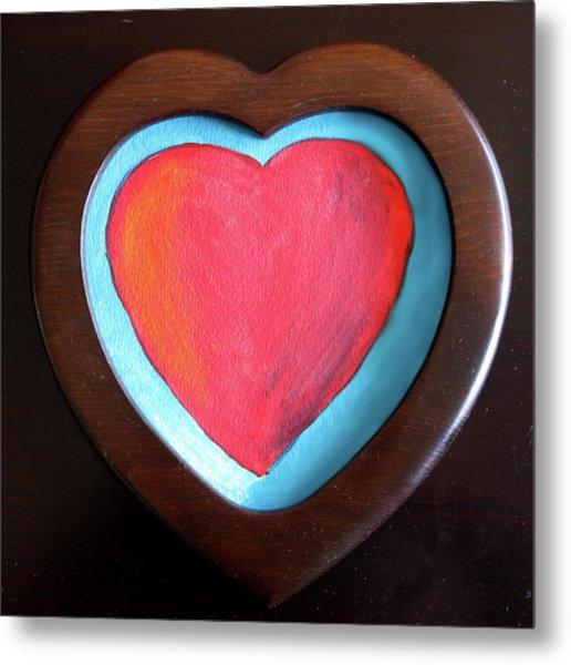 Hearts Afire Metal Print