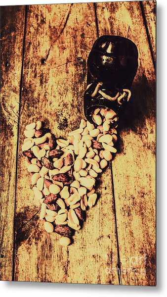 Hearts And Spills Metal Print