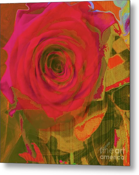 Hearts 'n Flowers-what Quarrel Metal Print