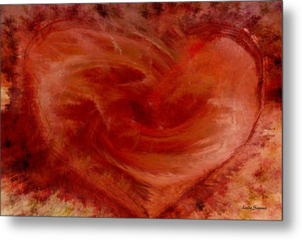 Hearts Of Fire Metal Print