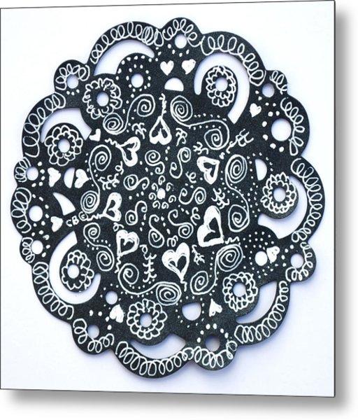 Hearty Metal Print