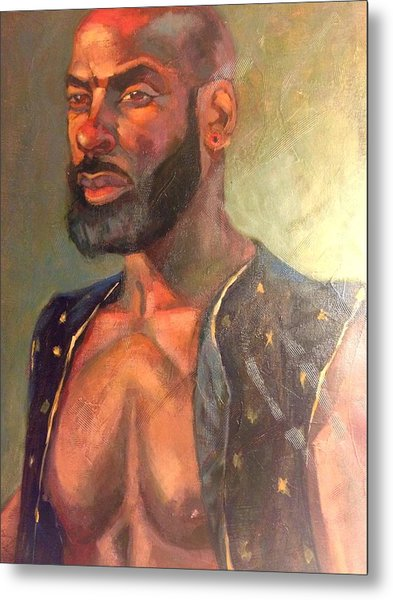 Metal Print featuring the painting Heat Merchant by JaeMe Bereal