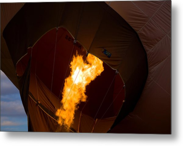 Heating Up Metal Print by Gary Smith