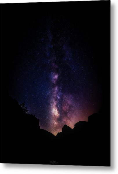Metal Print featuring the photograph Heaven Come Down by Rick Furmanek