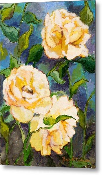 Heaven On Earth Roses Metal Print by Brenda Williams