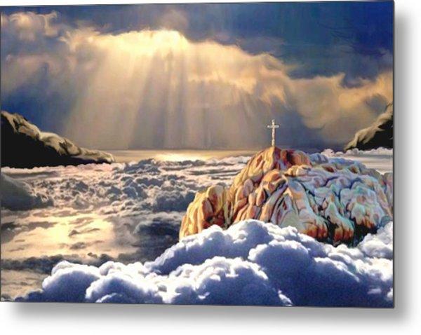 Heavenly Ascension Metal Print