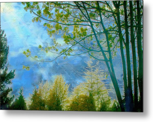 Heavenly Light II Metal Print