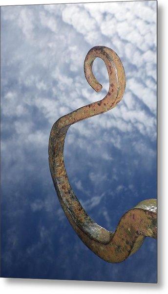Heavenly Sky Hook Metal Print
