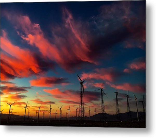 Heavenly Sunrise Metal Print