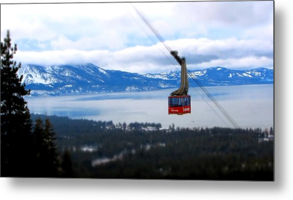 Heavenly Tram South Lake Tahoe Metal Print