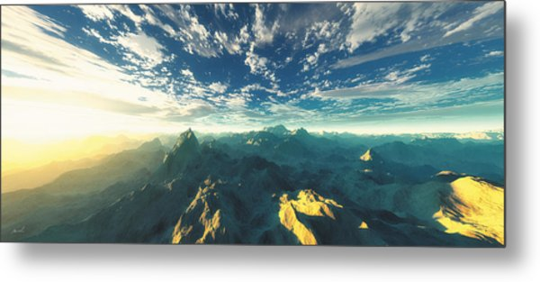 Heavens Breath 16 Metal Print