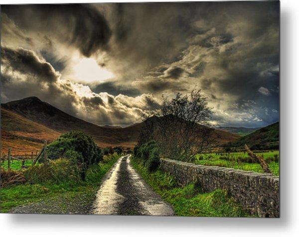 Heavens Path Metal Print by Kim Shatwell-Irishphotographer