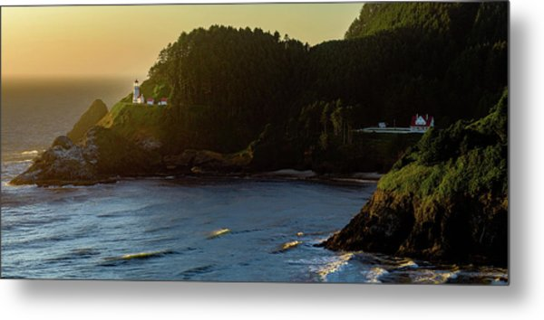Heceta Head Lighthouse Metal Print