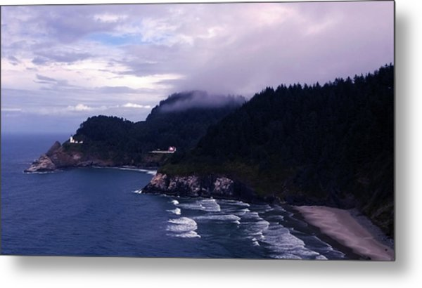 Heceta Head Lighthouse, Oregon Metal Print