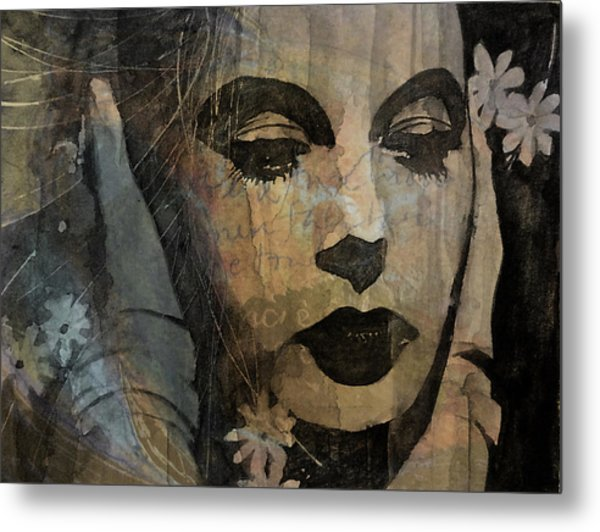Hedy Lamarr - Only A Woman's Heart  Metal Print