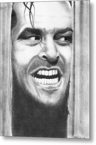 Heeeres Johnny Metal Print by Christopher Brooks