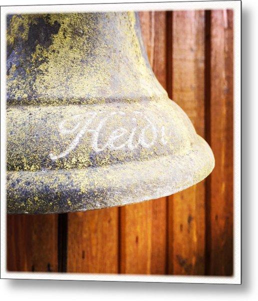Heidi Bell Metal Print