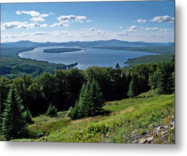 Height Of The Land Overlooking Mooselookmeguntic Lake Metal Print
