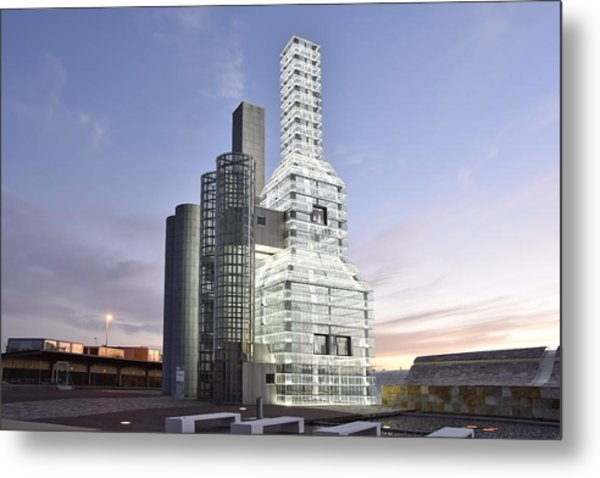Hejduk Memorial Towers Metal Print