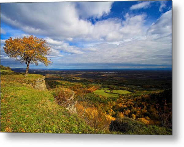 Heldeberg Fall Metal Print