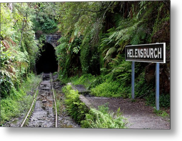 Helensburgh Old Station Metal Print