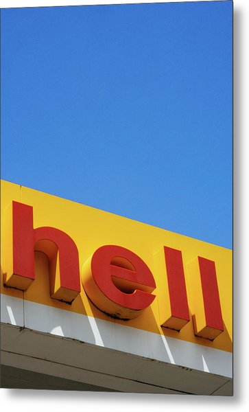 Hell Metal Print by Dylan Murphy