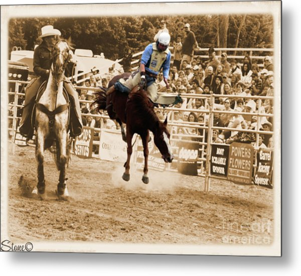 Helluva Rodeo-the Ride 5 Metal Print