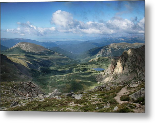 Helms Lake Valley 2 Metal Print