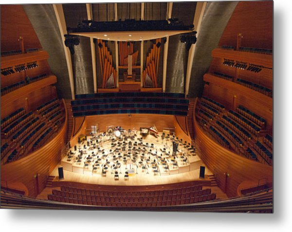 Helzberg Hall Metal Print