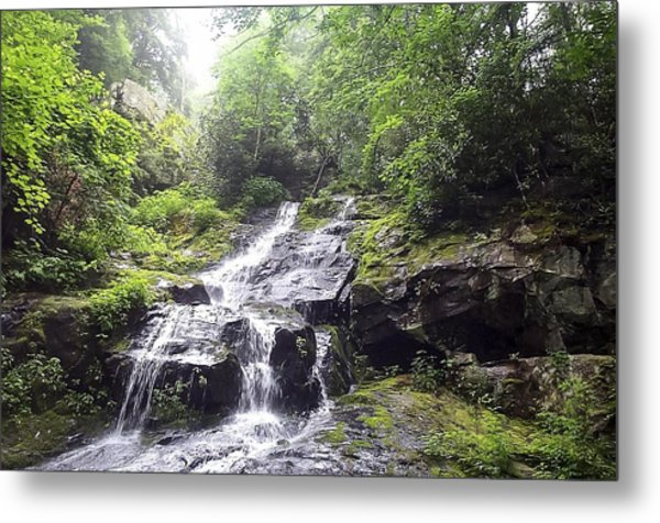 Hen Wallow Falls Great Smoky Mountains National Park Metal Print