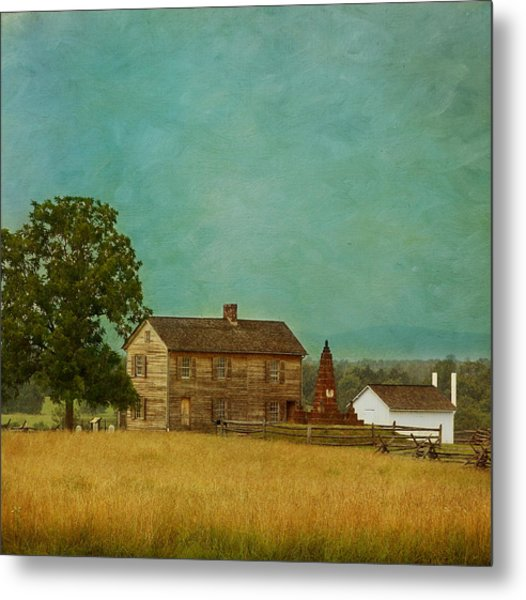 Henry House At Manassas Battlefield Park Metal Print