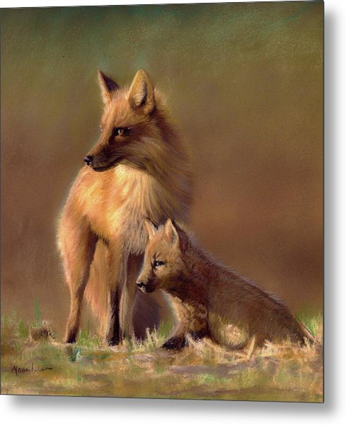 Her Watchful Eye Metal Print