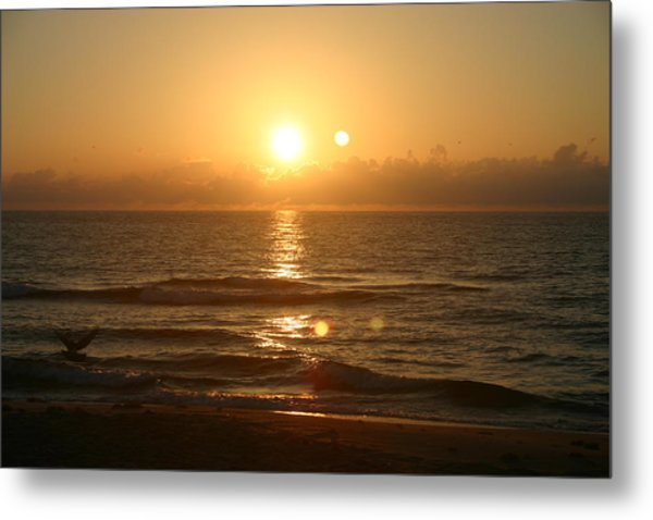 Here Comes The Sun. Metal Print by Dennis Curry