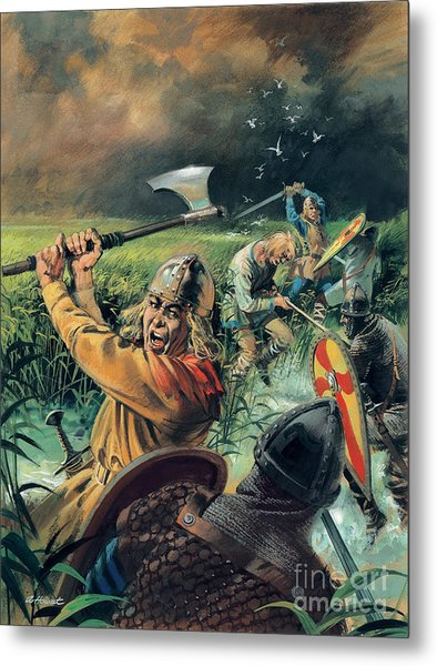 Hereward The Wake Metal Print