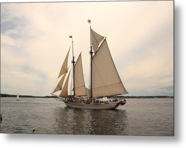 Heritage In Penobscot Bay Metal Print